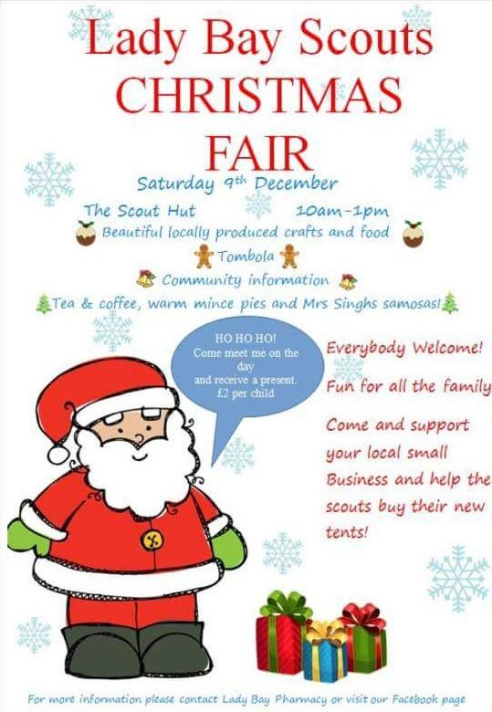 Poster for Christmas Fair